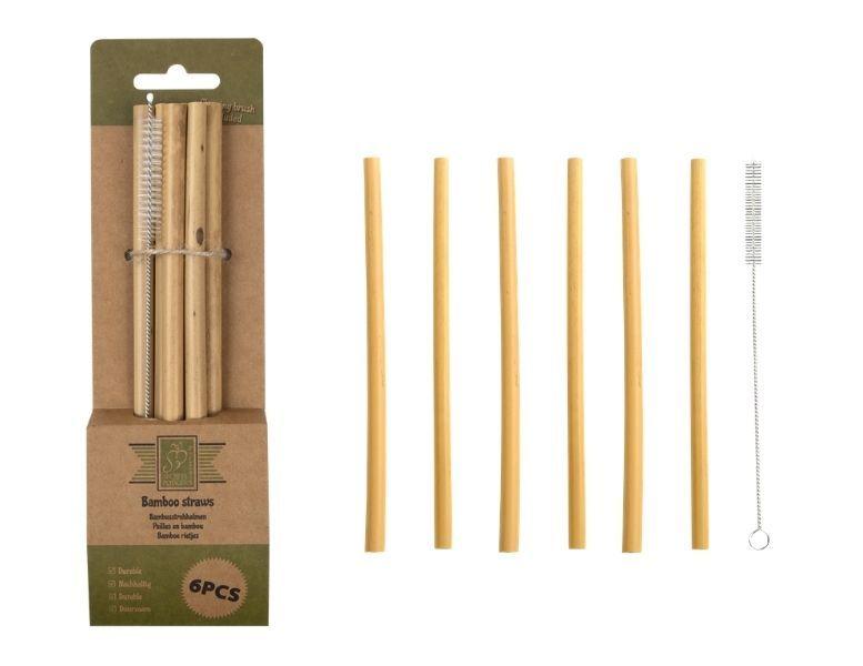 veilige bamboe rietjes