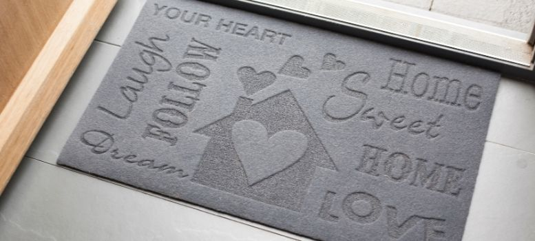 doormat love frontdoor