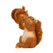 Eekhoorn met baby