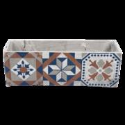 Portuguese tile planter
