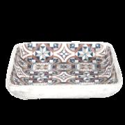 Portuguese tile bird bath