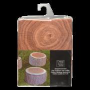 Outdoor pouffe tree trunk