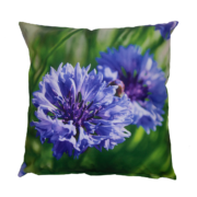 Outdoor cushion with purple flower S