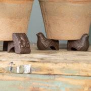 Bird pot feet