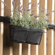 Support de pot double pour balcon