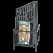 Corner etagere folding