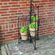 Plant stand for 3 pots folding