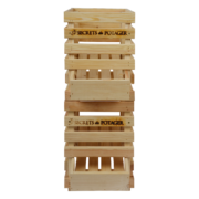 Wooden onion crate