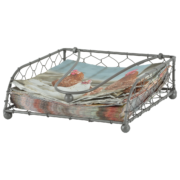 Napkin holder metal