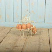 Egg holder metal
