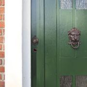 Door knocker lion head