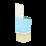 Sechseck- Dumpbin Flipflops TP365