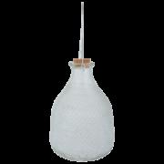 Wasp trap hobnail glass L