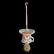 Tea cup with saucer upside down ass