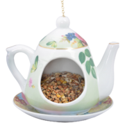 Hanging teapot feeder in giftbox