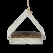 Triangular aged resin feeder