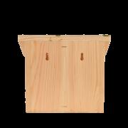 Wandfutterhaus mit Aufdruck