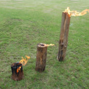 Flambeau Suédois 25cm ø15-25cm