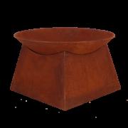 Rust firebowl