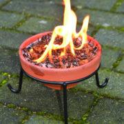 Ständer niedrig für Feuertopf FF124