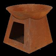 Vasque stockage bois S