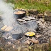Set à cuisiner 7 pcs Feu de camp