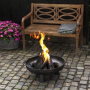 Steel fire bowl 60 cm