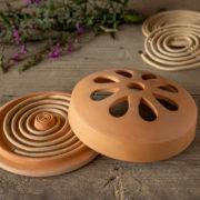 Citron. spiralen terracotta/giftbox