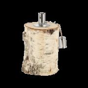 Birch oil lamp