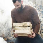 Bois de chauffage BBQ, hêtre