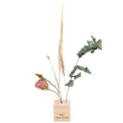 Wooden flowers and herbs stand S