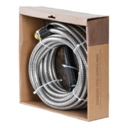 Stainless steel garden hose