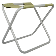 Chaise range-outils grise