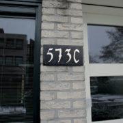 Schieferplatte 4 Hausnummern