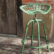 Tractor chair green