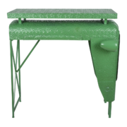 Tractor table green