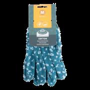 Cotton gardening gloves M