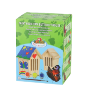 Paint your butterfly house
