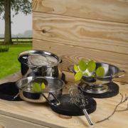 Set ustensiles de cuisine pour la boue