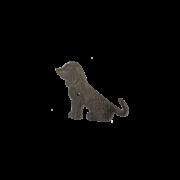 Crochet queue de chien simple