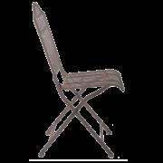 Chaise pliable métal