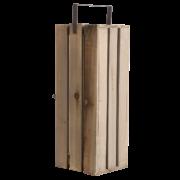 Präsentationskiste Holz L 2er Set