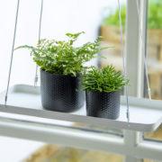 Plateaux de fenêtre suspendus rectangulaires S