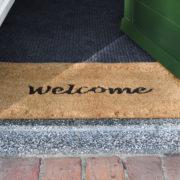 Doormat coir relief welcome