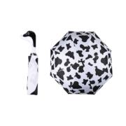 Foldable umbrella cow