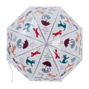Transparante paraplu cats and dogs
