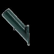 Cast iron flag pole holder