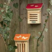 Schmetterlingshaus mit Aufdruck