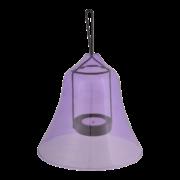 Tealight lamp shade Glas ass.