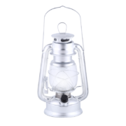 LED light lantern silver